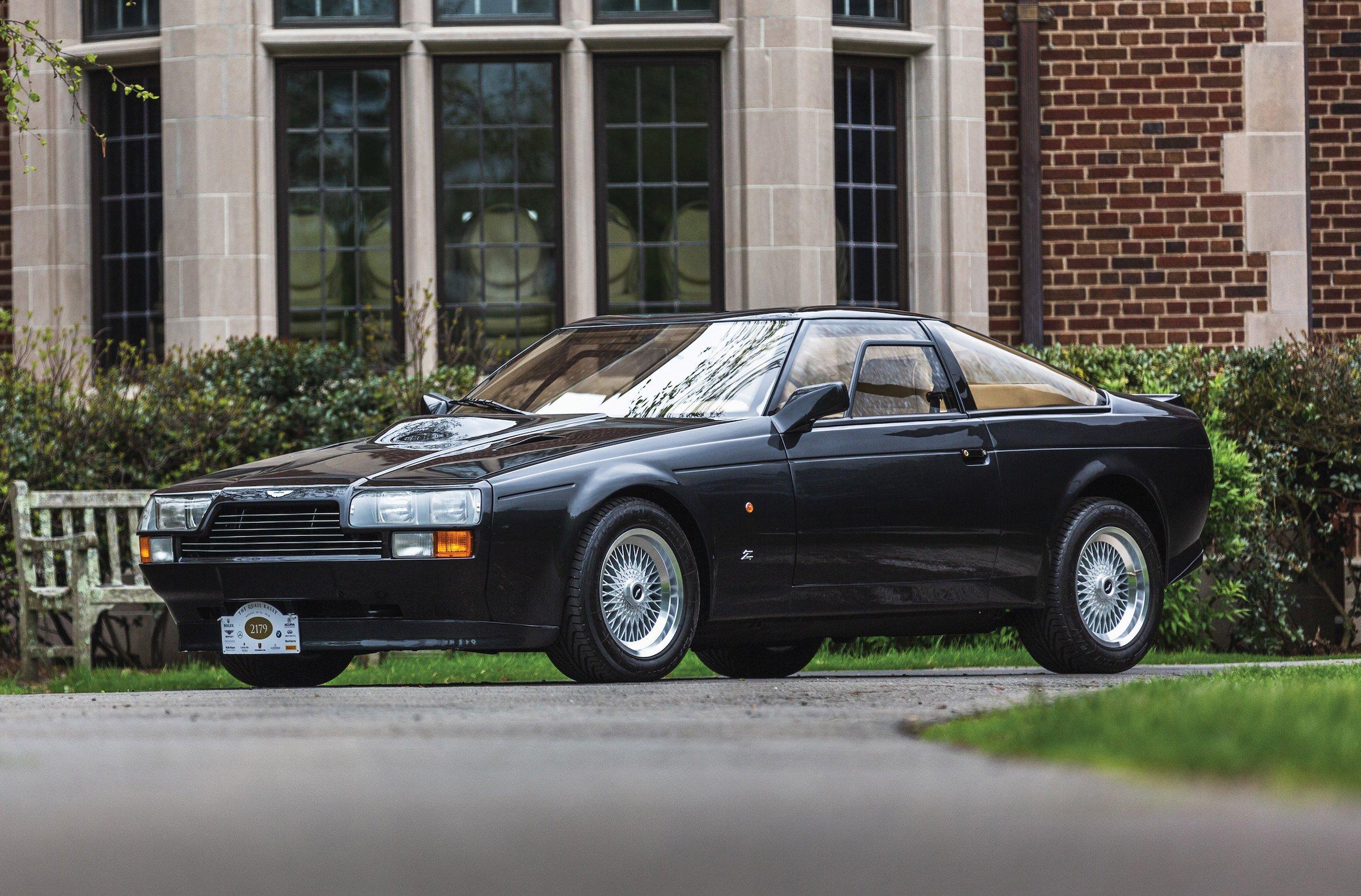 The Rare Aston Martin V8 Vantage Zagato An 1980s Supercar Fighter