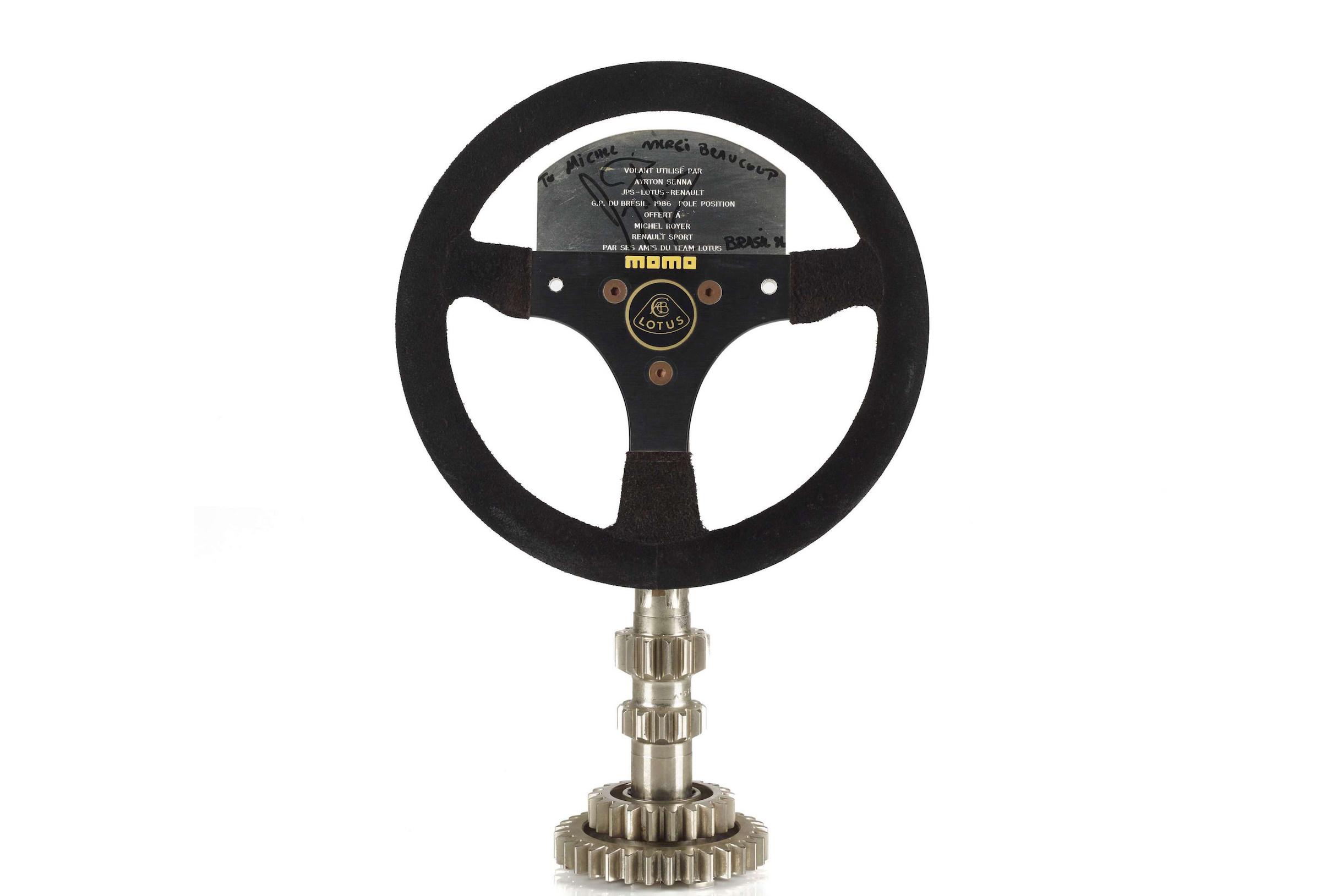 Ayrton Senna Steering Wheel