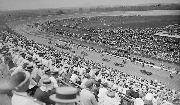Baltimore-Washington Board Track Speedway in 1925