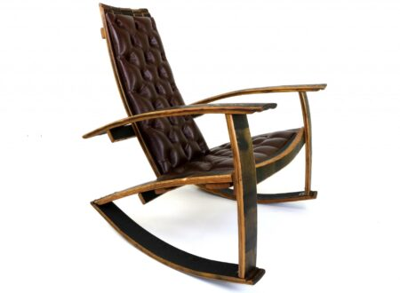 Bourbon Barrel Rocking Chair