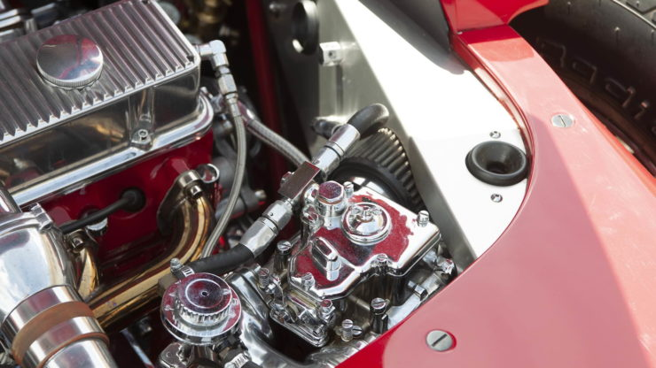 California Star Ford Model T Hot Rod Engine 3