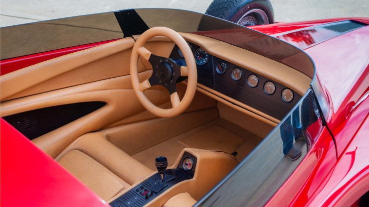 California Star Ford Model T Hot Rod Interior 2
