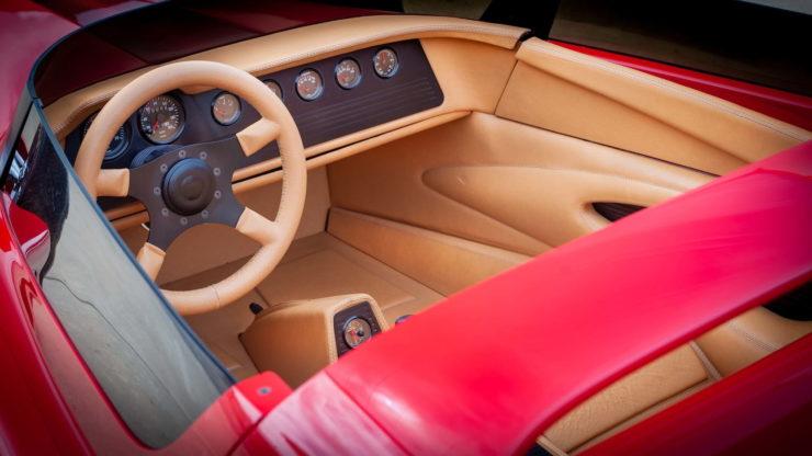 California Star Ford Model T Hot Rod Interiorv