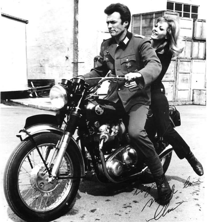 Clint Eastwood Norton P11 Motorcycle