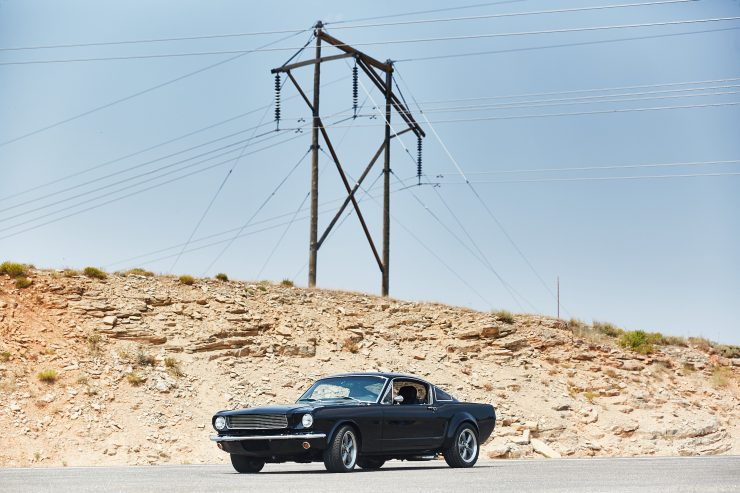 Custom Ford Mustang Patrick Dempsey 1