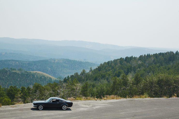 Custom Ford Mustang Patrick Dempsey 3