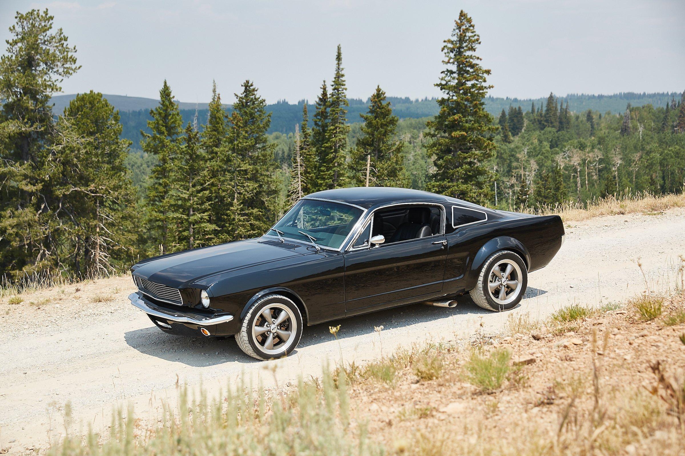 Custom Ford Mustang Patrick Dempsey 4