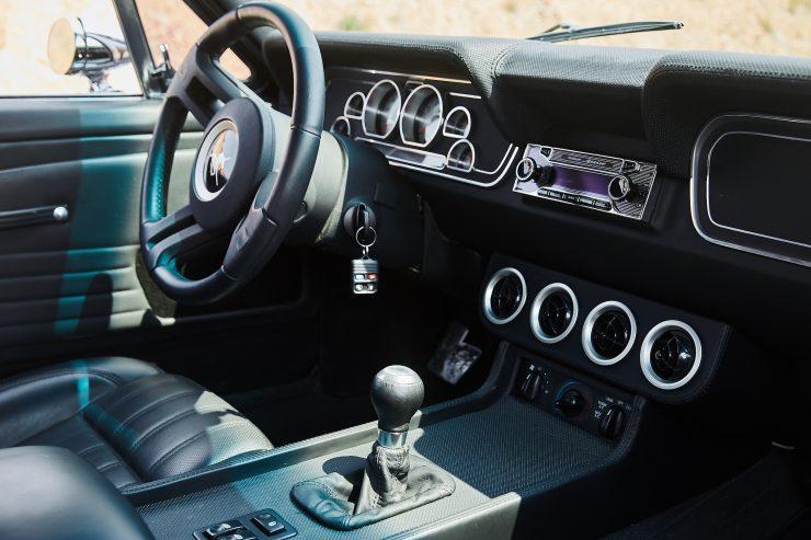 Custom Ford Mustang Patrick Dempsey Interior