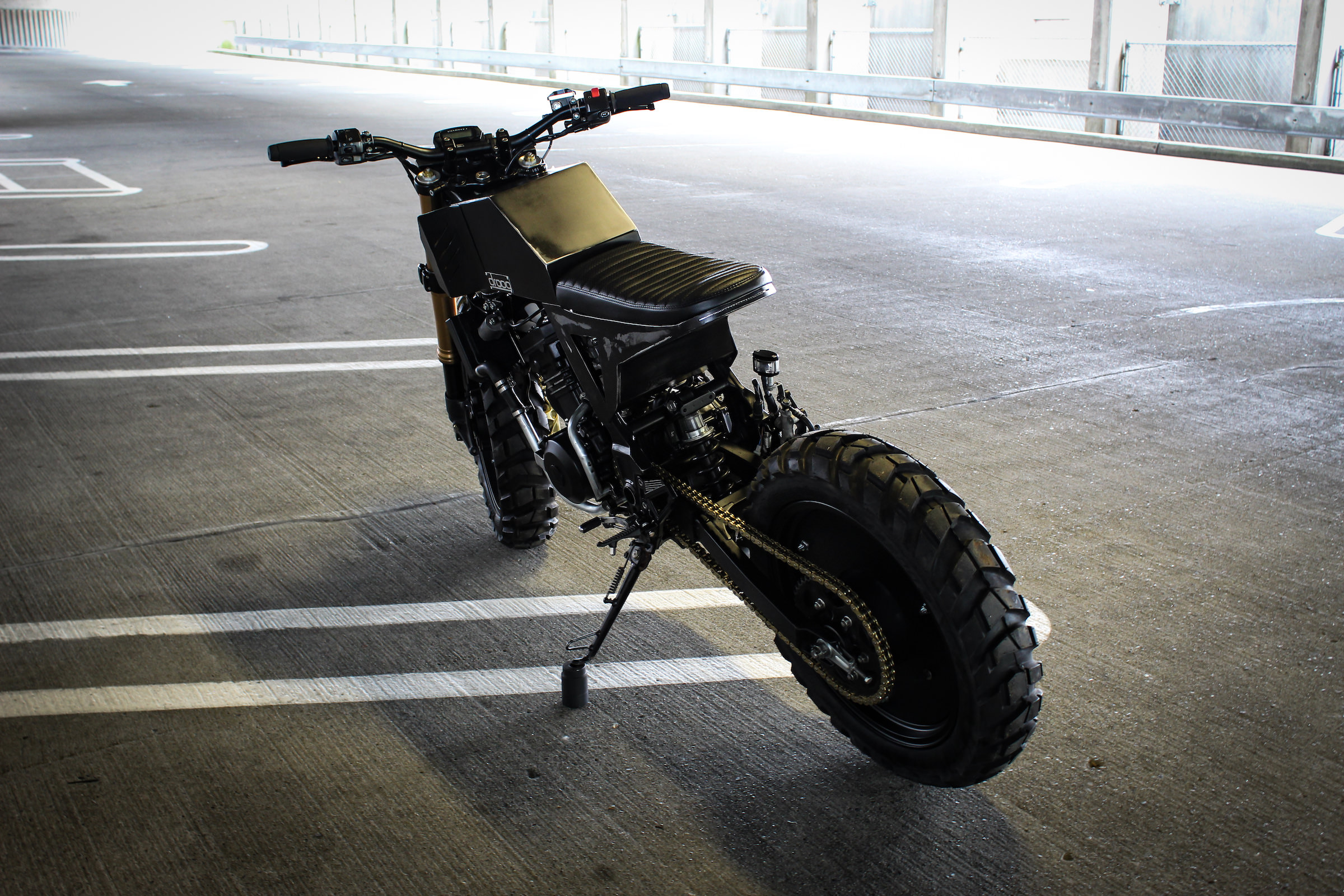 The Droog Moto Custom Kawasaki Ninja 250 R Scrambler x