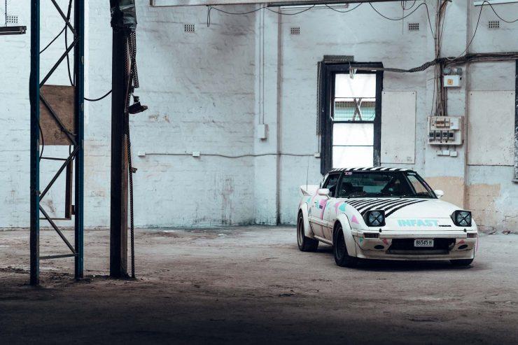 Custom Mazda RX-7 Front 3