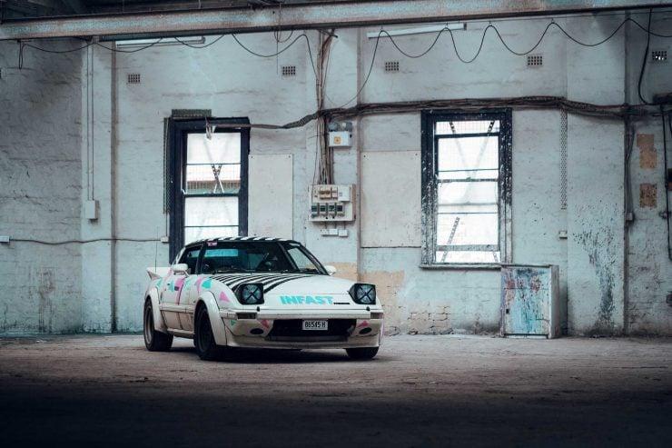 Custom Mazda RX-7 Front 4