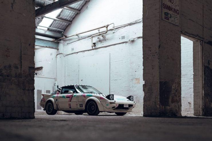 Custom Mazda RX-7 Front 5