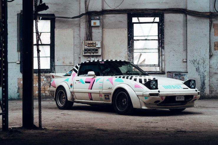 Custom Mazda RX-7 Front