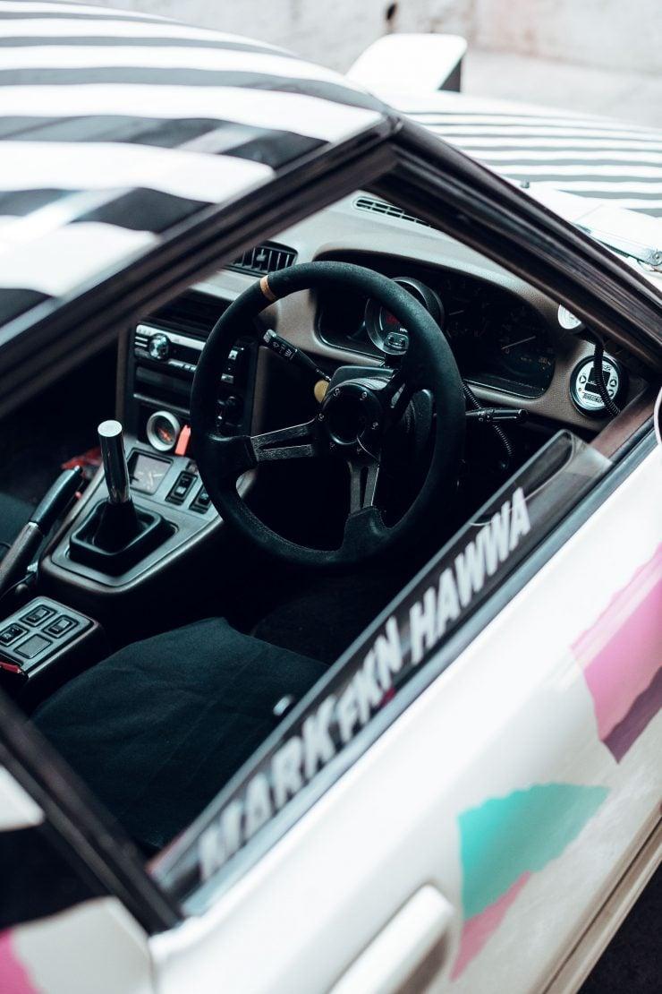 Custom Mazda RX-7 Interior