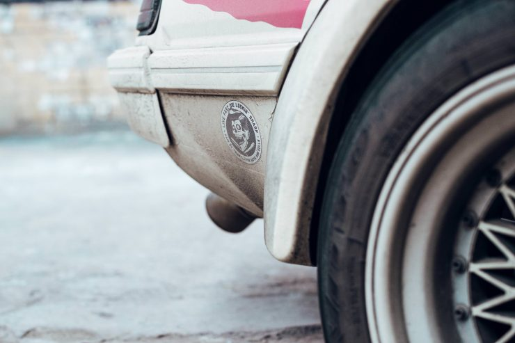 Custom Mazda RX-7 Rear
