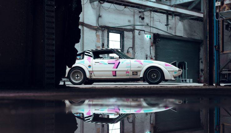 Custom Mazda RX-7 Side 3