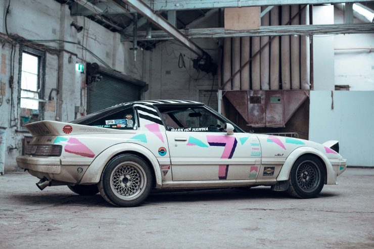 Custom Mazda RX-7 Side 4