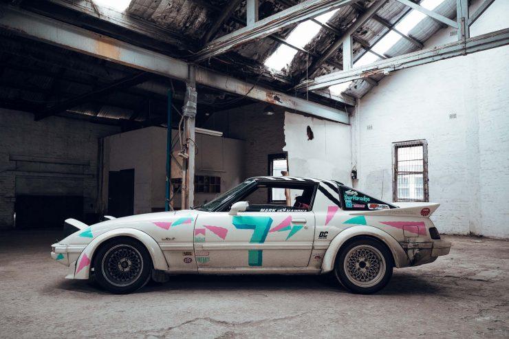 Custom Mazda RX-7 Side