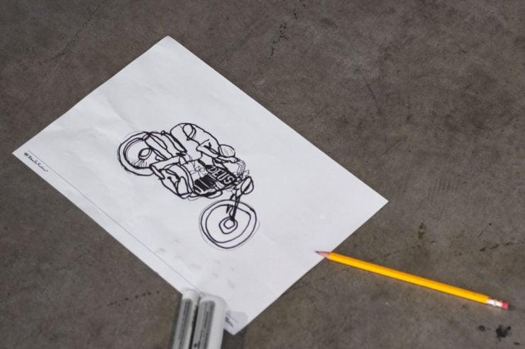 Deus Custom Motorcycle Art