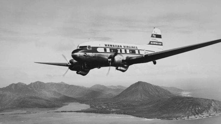 Douglas DC-3 Hawaiian Airlines