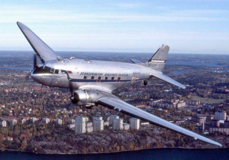 Douglas DC-3 Scandinavian Airlines