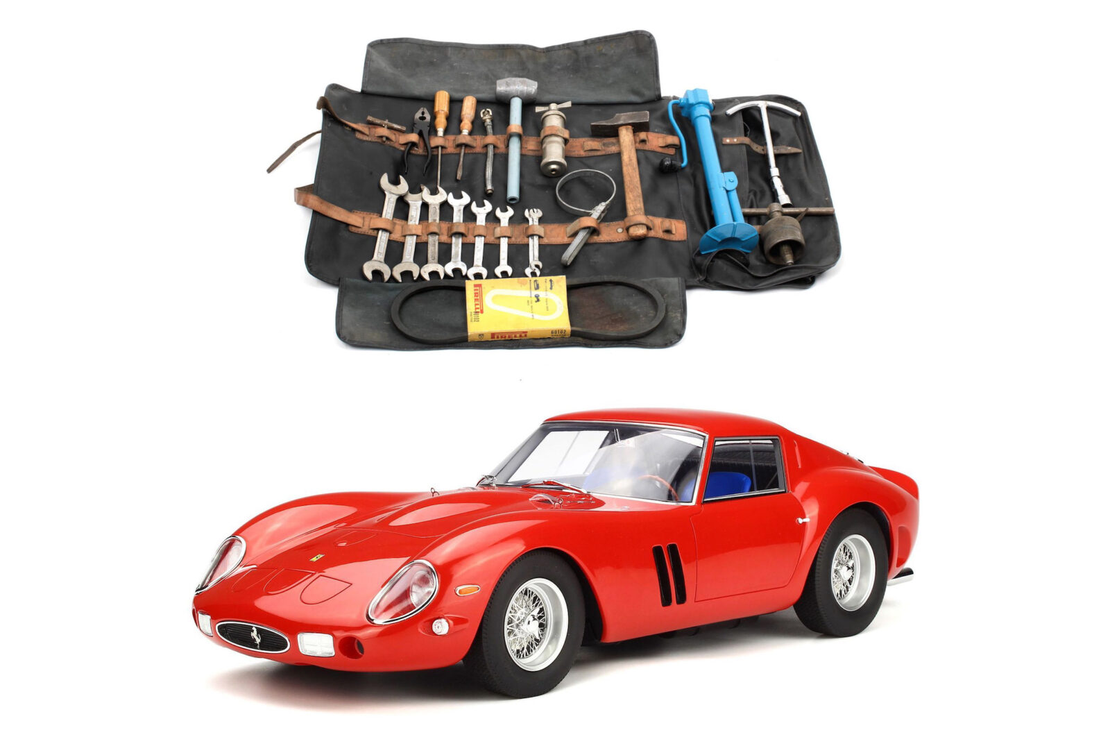An Original Ferrari 250 Tool Roll - That (Probably) Costs More Than Your Car