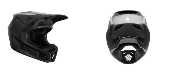 Fox Racing V3 Helmet Side Front
