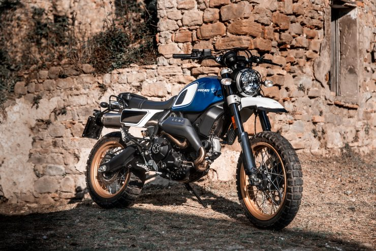 Fuoriluogo Kit Ducati Desert Sled 800 1