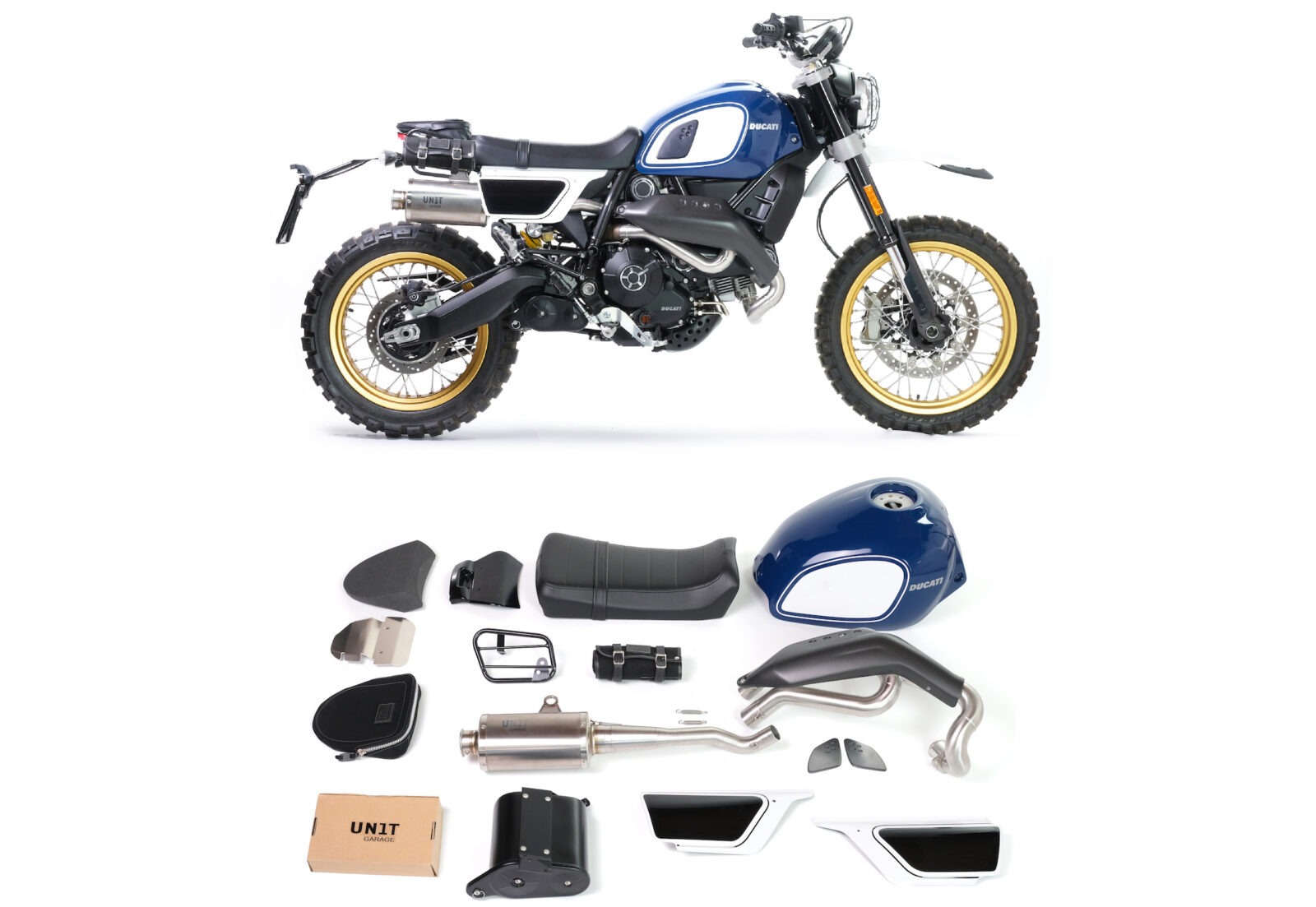The Fuoriluogo Kit - A Bolt-On Package To Transform Your Ducati Scrambler