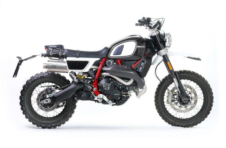 Fuoriluogo Kit Ducati Desert Sled 800 Black