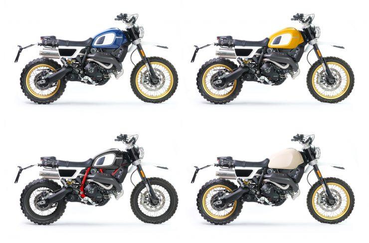 Fuoriluogo Kit Ducati Desert Sled 800 Motorcycles