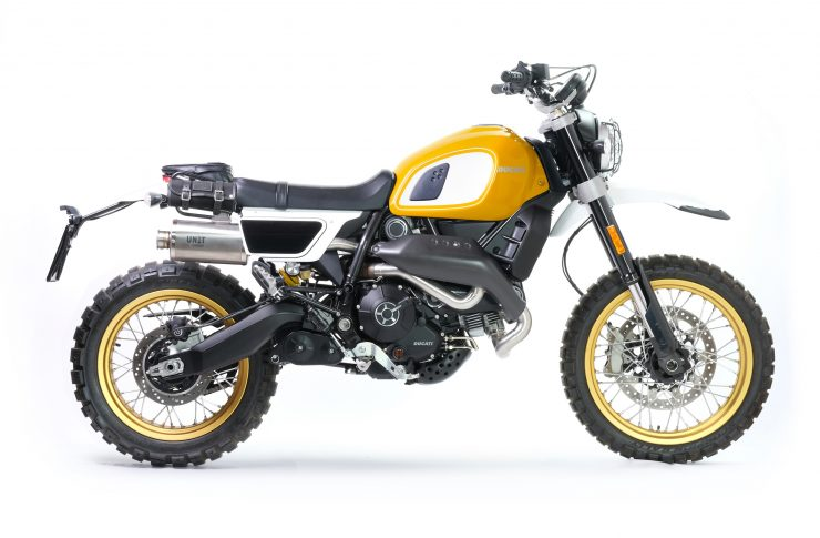 Fuoriluogo Kit Ducati Desert Sled 800 Yellow