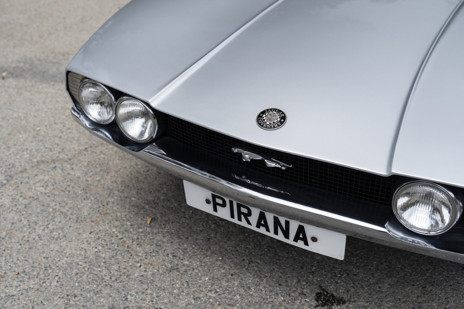 Jaguar Pirana by Bertone Grille