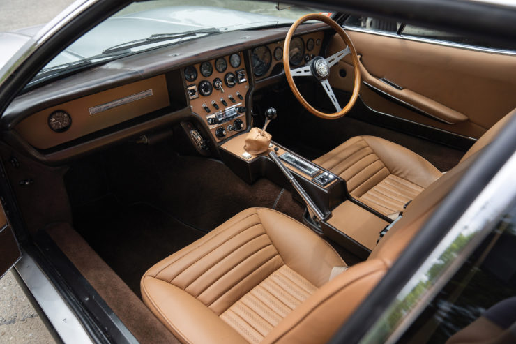 Jaguar Pirana by Bertone Interior 2