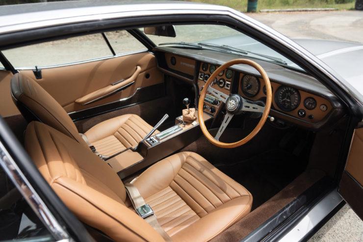 Jaguar Pirana by Bertone Interior