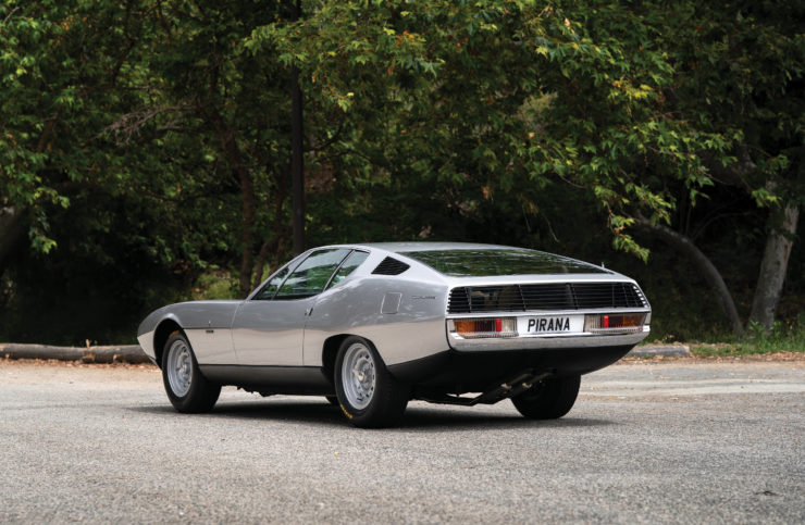 Jaguar Pirana by Bertone Rear