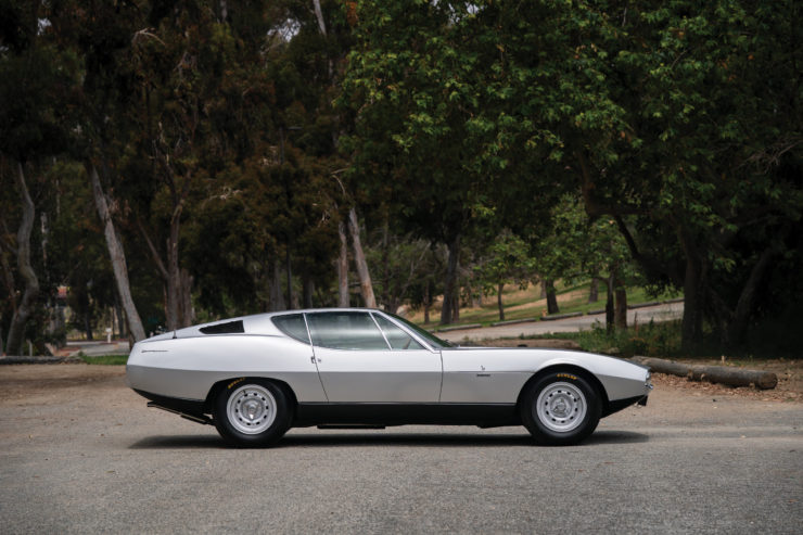 Jaguar Pirana by Bertone Side