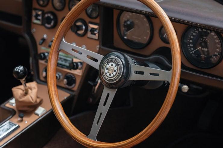 Jaguar Pirana by Bertone Steering Wheel