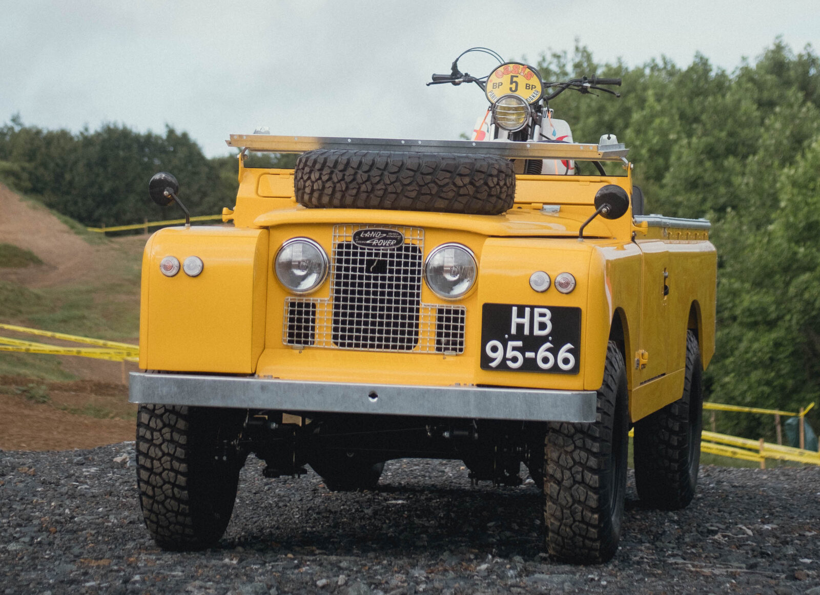 A Restored Land Rover Series 2A LWB - The Perfect 4x4 Motorcycle Hauler?