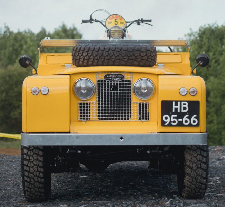Land Rover Series 2A LWB Front 2