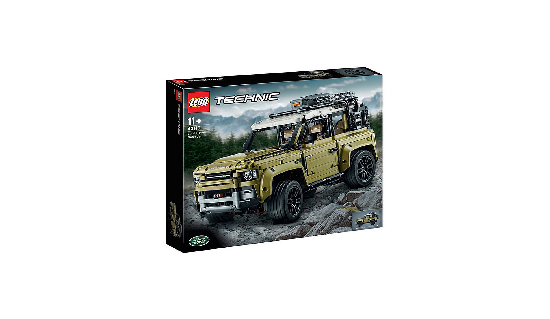 The New Lego Technic Land Rover Defender
