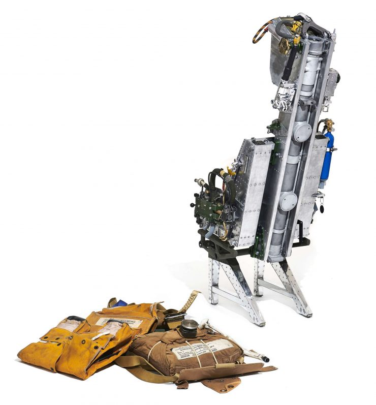 Martin-Baker Mk 5 Ejection Seat Back