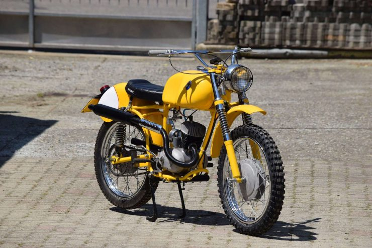 Maserati Regolarità Motorcycle ScramblerMaserati Regolarità Motorcycle Scrambler