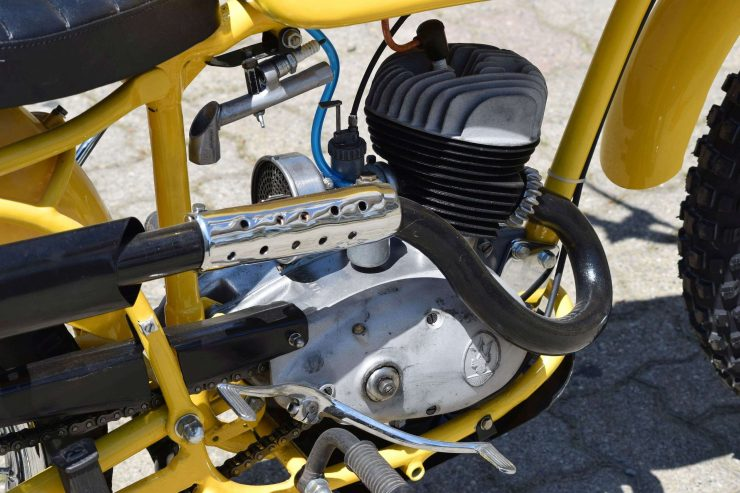 Maserati Regolarità Motorcycle Scrambler Engine