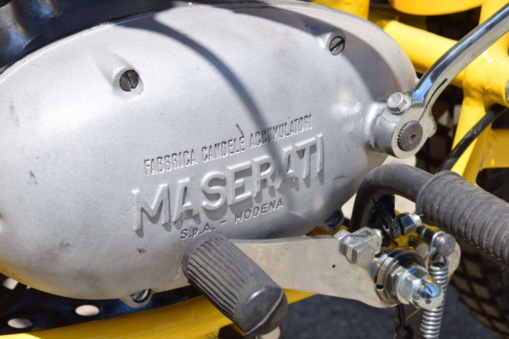 Maserati Regolarità Motorcycle Scrambler Engine Case