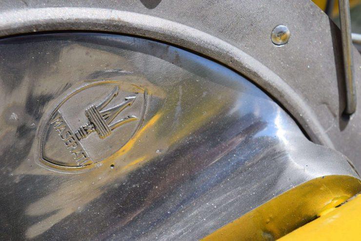 Maserati Regolarità Motorcycle Scrambler Logo