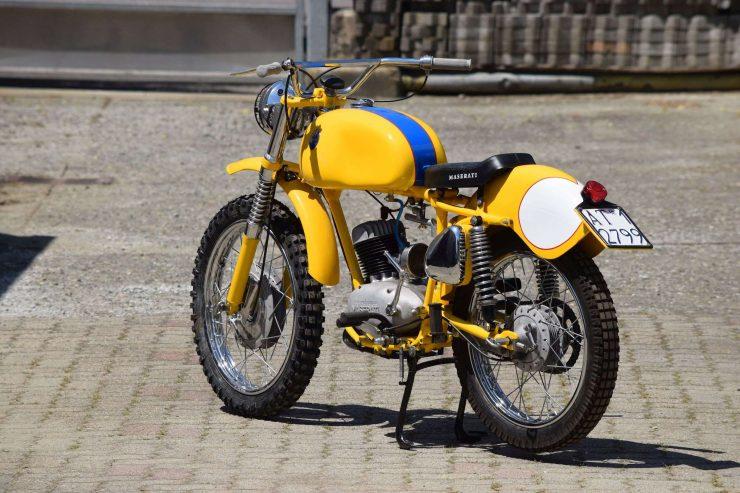 Maserati Regolarità Motorcycle Scrambler Rear