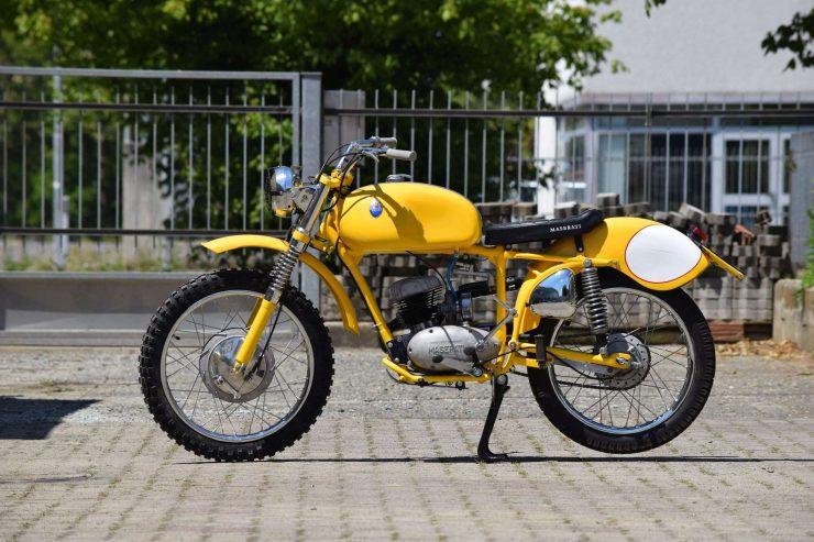 Maserati Regolarità Motorcycle Scrambler Side 2