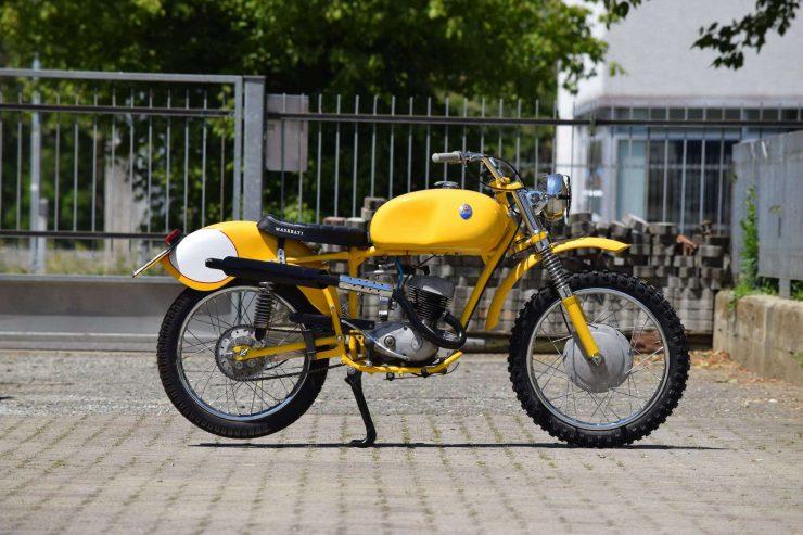 Maserati Regolarità Motorcycle Scrambler Side