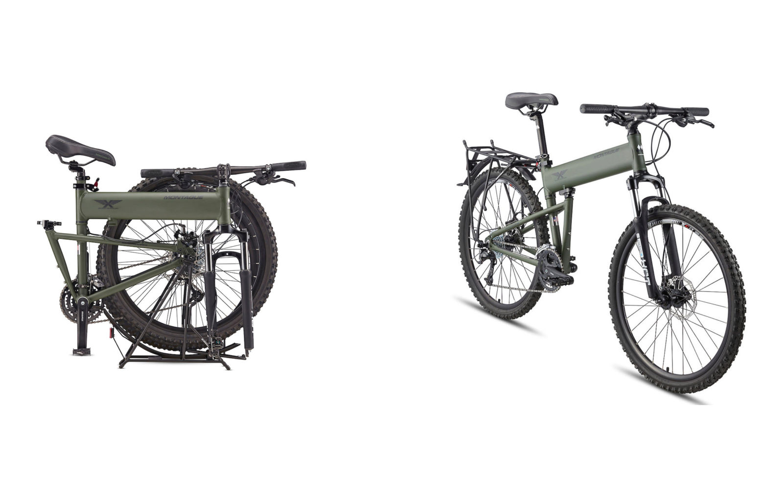 The Montague Paratrooper Bike - Developed For US Special Forces With A Grant From DARPA